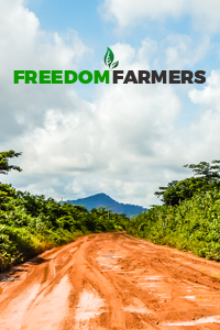 Freedom Farmers menu banner